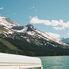 Josephine Lake, from the boat