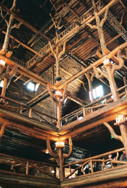 Old Faithful Inn, interior