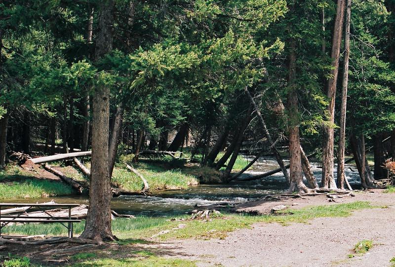 Lava Creek, Yellowstone