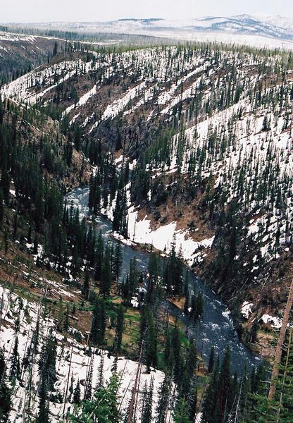 Lewis River Canyon
