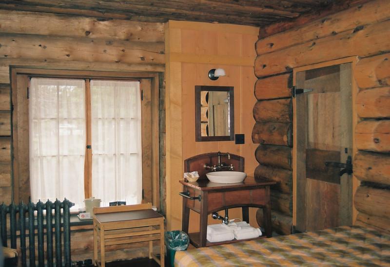 Original room, Old Faithful Inn