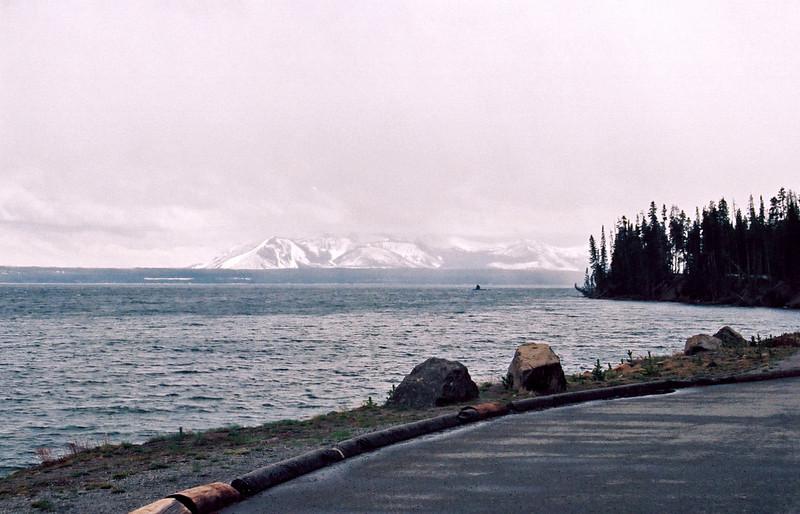 Lake Yellowstone, from hotel