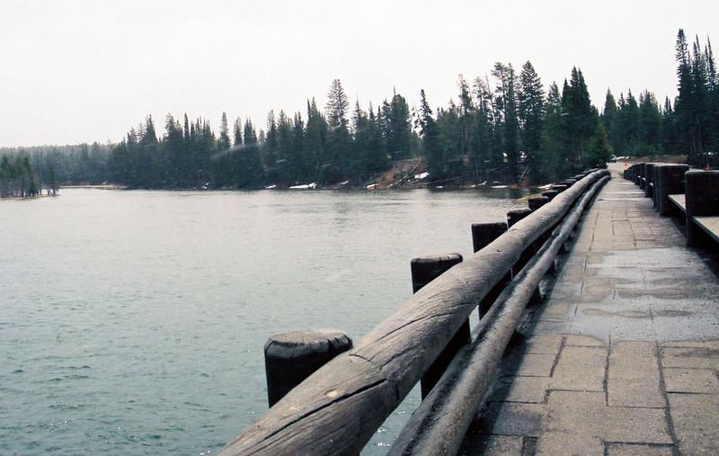 Fishing Bridge, Yellowstone River