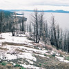 Lake Yellowstone from Lake Butte overlook