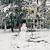 Yellowstone Lake Hotel - snowman