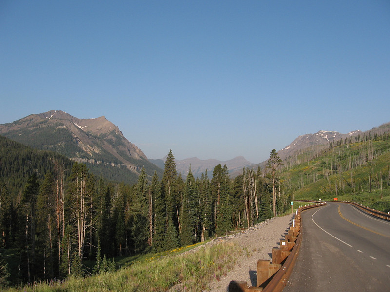 There was lots of great scenery, a good shoulder, and almost no traffic.