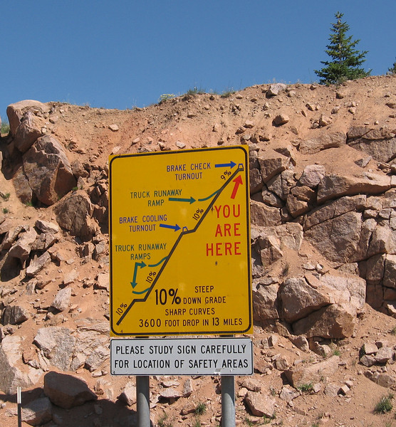 This is what I'd just come up (and I know their sign says 3600 feet, but it's really 5500 feet).