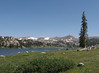 More meadows and lakes, and snow.