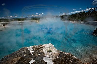 Excelsior Geyser Crater, Midway Geyser Basin, Yellowstone Natl. Park
