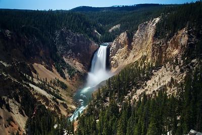 Lower Falls, Yellowstone River