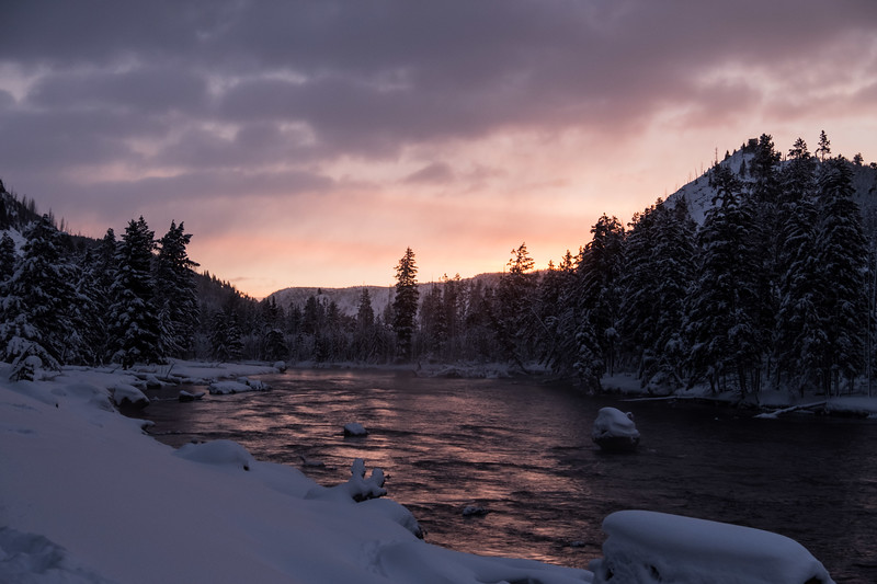 Sunrise, Madison river