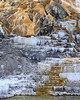 Palette Spring at Mammoth Hot Springs in Yellowstone National Park.