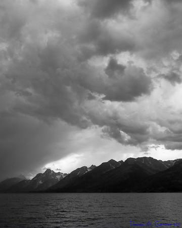 Jackson Lake in Grand Teton National Park.
