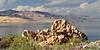 Antelope Island State Park.