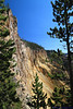 The walls of the Grand Canyon of the Yellowstone.