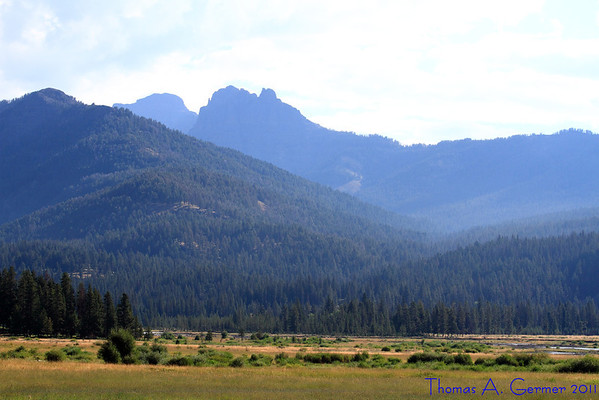 Lamar Valley, Yellowstone National Park.