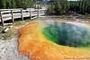 Morning Glory Pool, Upper Geyser Basin, Yellowstone National Park