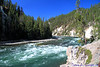 Yellowstone River, just above Upper Falls.