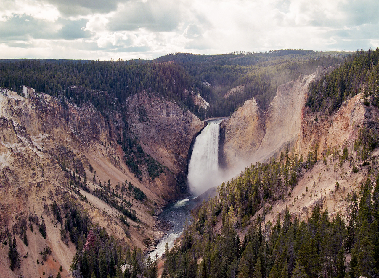 Upper falls, from another angle