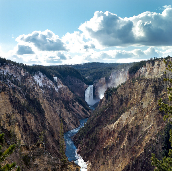 Upper Falls of the Yellowstone
