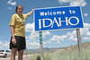 Tom's Tours heads through Idaho enroute to Yellowstone.