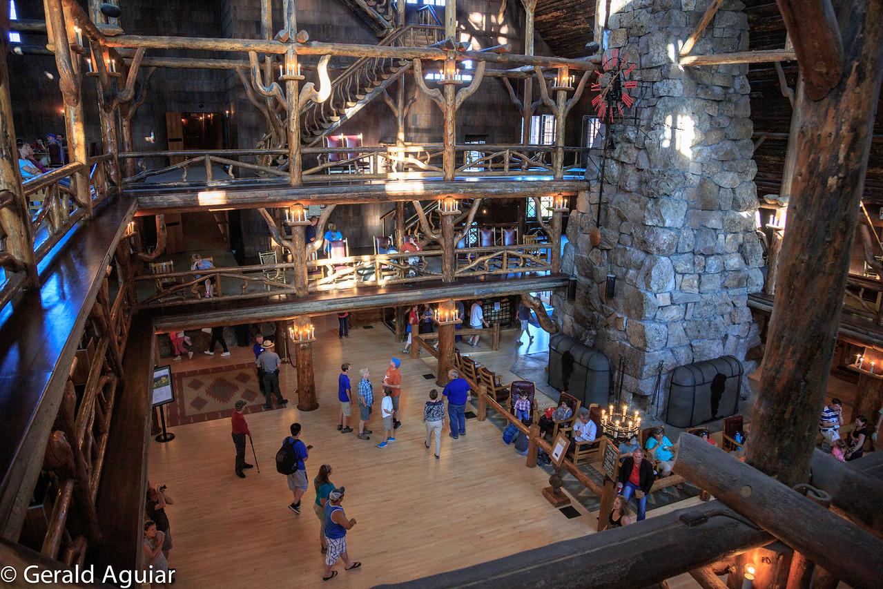 Lobby - Old Faithful Inn