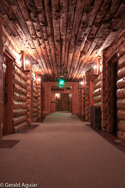 Typical Hallway - Old Faithful Inn