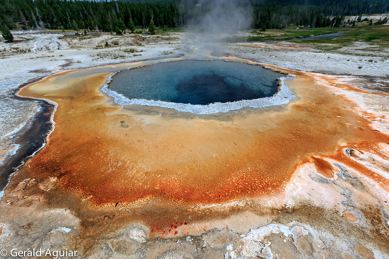 Thermal Pool in the Old Faithful Basin