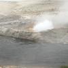 Creekside geyser