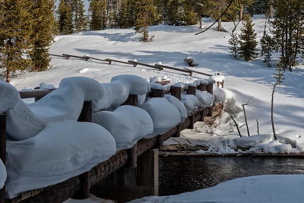 Snowcapped Bridge