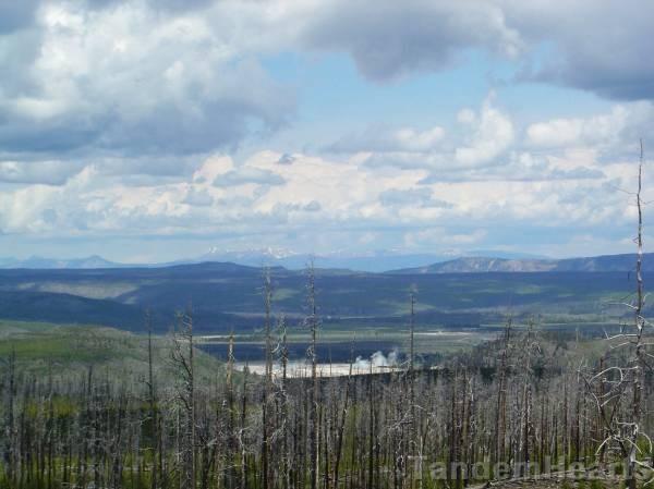 The view above Mallard Lake.