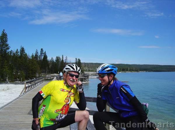 Biking Buddies: Ron and Kim