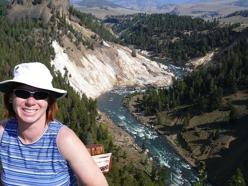"""The so-called """"Grand Canyon of Yellowstone""""."""