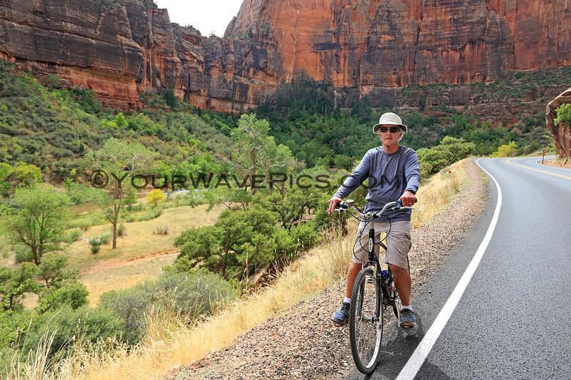 2019-09-26_1632_Utah_Zion_Tony biking.JPG