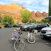 2019-09-26_1591_Utah_Springdale_Holiday Inn Express_Tony with bikes.JPG