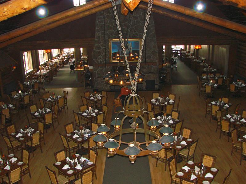 Old Faithful Inn - Dining Room