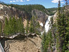 Boardwalk down to Red Rock Viewpoint, Grand Canyon of the Yellowstone