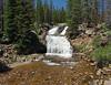 Provo River Falls - Mirror Lake Scenic Byway .