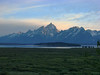Teton Sunset from Jackson Lake Lodge