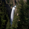 A picture of Tower Falls taken with a pinhole cap on my 5D (it refused to recognize any of my lenses).