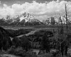 Grand Teton and Snake River from the highway overlook...classic location Ansel Adams shot from in 1942.