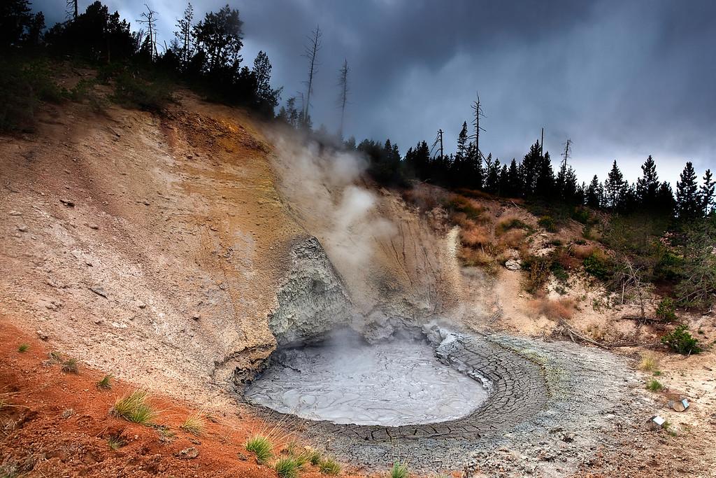 boiling mud @ yellowstone NP