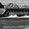 Jackson Lake Spillway, Grand Teton National Park; best viewed in the larger sizes