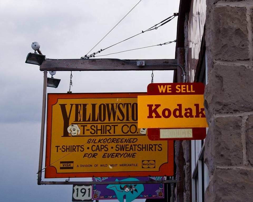 we sell kodak @ Yellowstone National Park