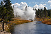 Riverside Geyser, Upper Geyser Basin, Yellowstone National Park, Wyoming, USA, North America
