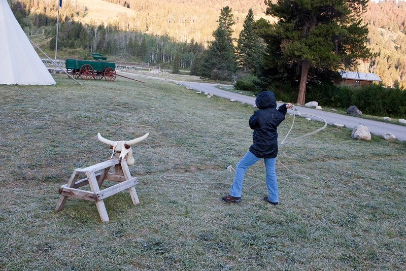 4M9F8106-13. Never too early to practice ropin' skills.
