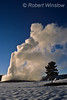 Winter, Old Faithful Geyser, Yellowstone National Park, Wyoming, USA, North America