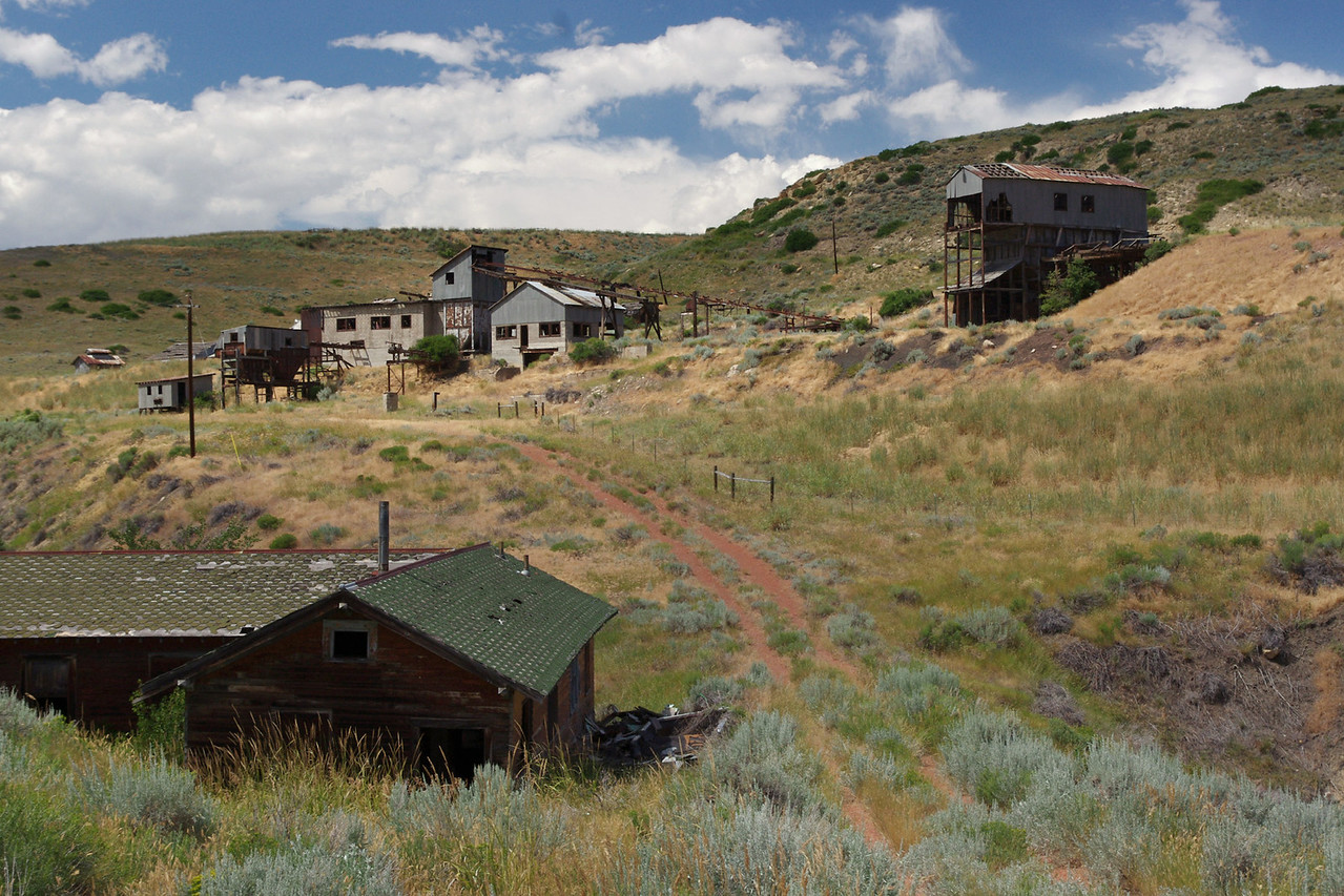 Abandoned mine, Wyoming.