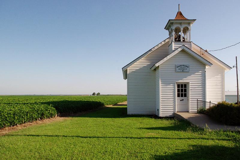 School house, Agricultural Museum, Hiawatha, Kansas.