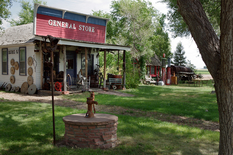 General Store, Dobby's Frontier Town near Alliance, Nebraska.
